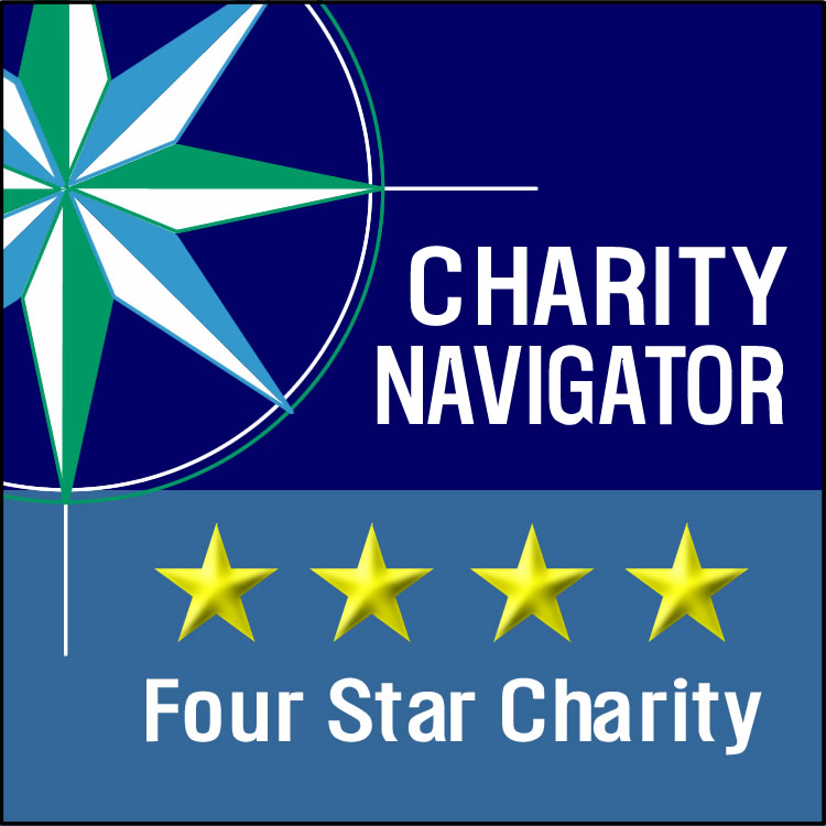 Charity Navigator - 4-star Charity